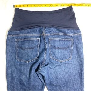 GAP Jeans - Gap Long & Lean 33/16a Maternity Jeans Like New